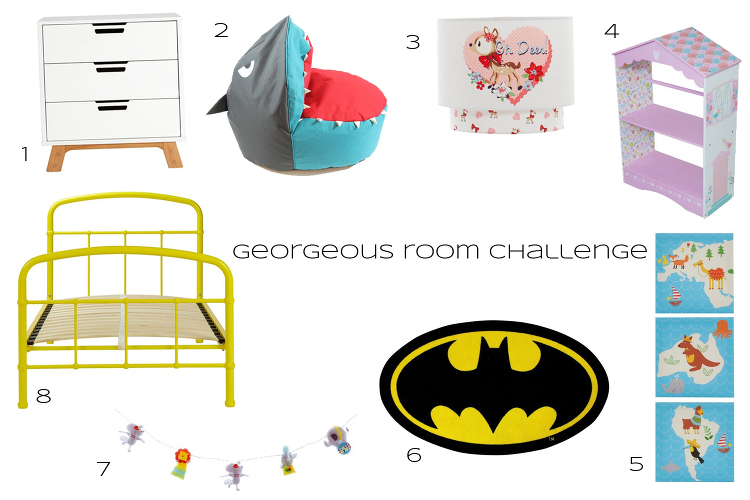 georgeous room challenge copy